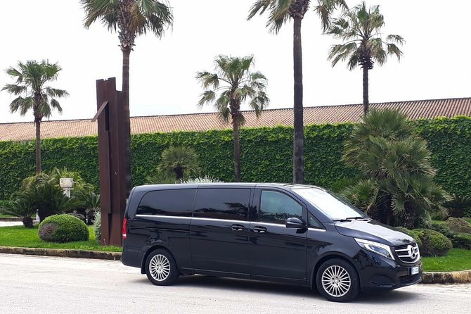Book your private transfer from Palermo airport, Palermo city to any hotel or destination in Campofelice di Roccella or vice versa.<br>We take you directly to your destination in one of our cars, minivans or minibuses.<br> What's Included:<br> - NO HIDDEN COST<br> - PROFESSIONAL DRIVERS<br> - FREE CANCELLATION UP TO 24 HOURS BEFORE YOUR ARRIVAL<br> - MEET & GREET SERVICE (Our driver will wait for you in the arrival hall with a sign with the name of the main passenger)<br>- ONE-WAY TRANSFER