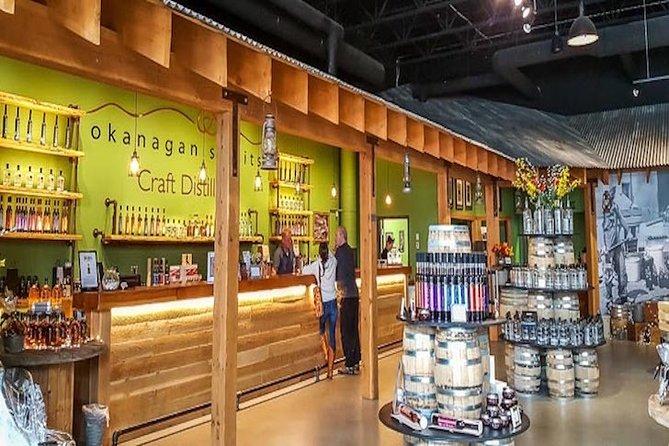 Vernon High Spirits Distillery Tour, Kelowna y Okanagan Valley, CANADA