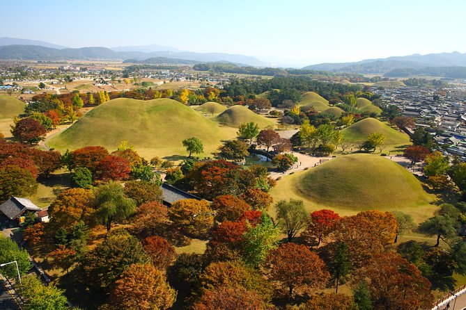 Do you want to catch splendid history of Shilla which lasted about 1,000years? <br>Make your own customized private tour and use your time efficiently in limited time in Gyeongju ! Experienced local Driver who can speak English in a well cleaned Private air-conditioned tour vehicle will take you to some places that you want to visit! There are many places though, you can discuss where to go and how much you want to spend time at the site! Itinerary is flexible! Plus you will have authentic local food Lunch in Gyeongju like locals! Through the tour, you will visit major tourists spot in Gyeongju : Bulguksa temple, Seokguram Grotto, Tomb park, Cheomseongdae observatory, Anapji(Dongung and wolji),etc. <br>Flexibility to customize your itinerary to your own preferences<br>Air-conditioned vehicle and Private driver for a more personalized experience Roundtrip hotel transport, plus all parking fees and tolls are included<br>This tour is a private tour so you can make your own plan!