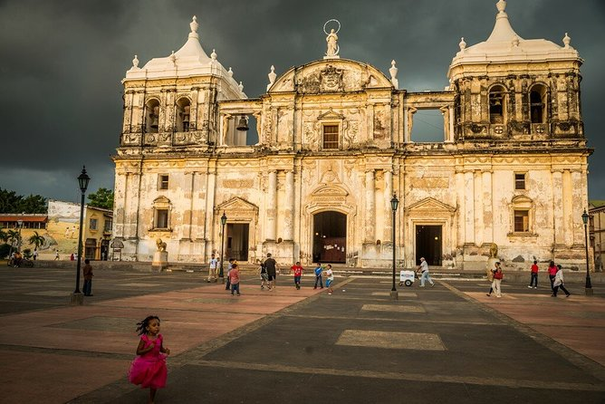Explore the historic sites of the city including Central America's largest cathedral, a UNESCO World Heritage site. Indulge in the local culture and city's history.