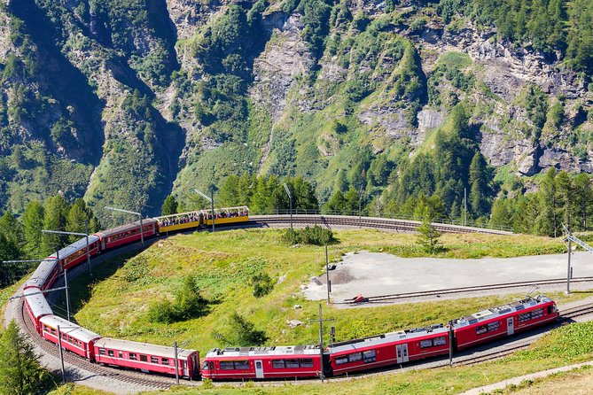 Bernina Scenic Train & Lake Como, Milan, ITALIA