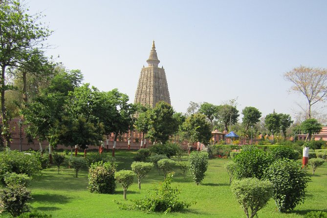 Full day Bodhgaya sightseeing starts between 07 AM - 08 AM by private AC Car/Coach from your pre booked hotel in Bodhgaya. Buffet lunch will be provided in Seven Inn Hotel.