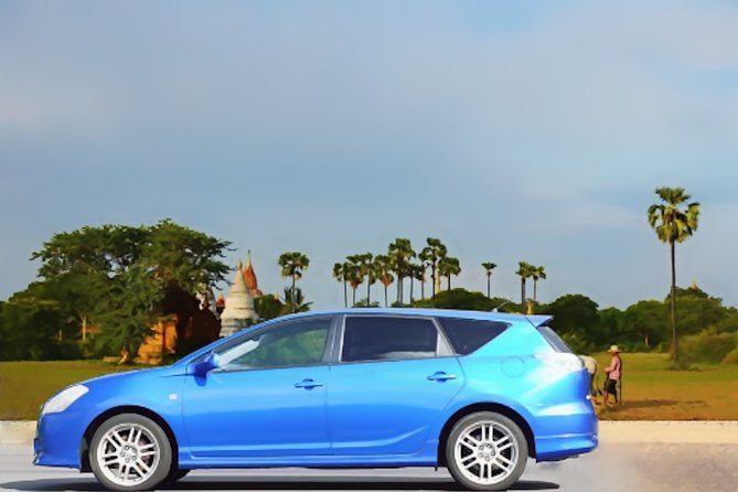 Pre-book your private transfer to avoid the stress navigating for taxi services during your stay in Bagan. Your driver will be meeting you at your hotel in Bagan at agreed time to ensure you a relax journey to your hotel in Mandalay. The transfer from Bagan hotel to Mandalay Airport/Port is available. The price is per car and you can choose 1 to 3 seater car or 4 to 6 seater Toyota Hiace.