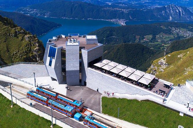MÁS FOTOS, Roundtrip to the Monte Generoso by cogwheel train from Lake Lugano