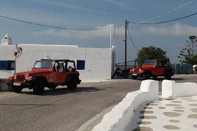 Jeep Safari In Mykonos, Miconos, Grécia