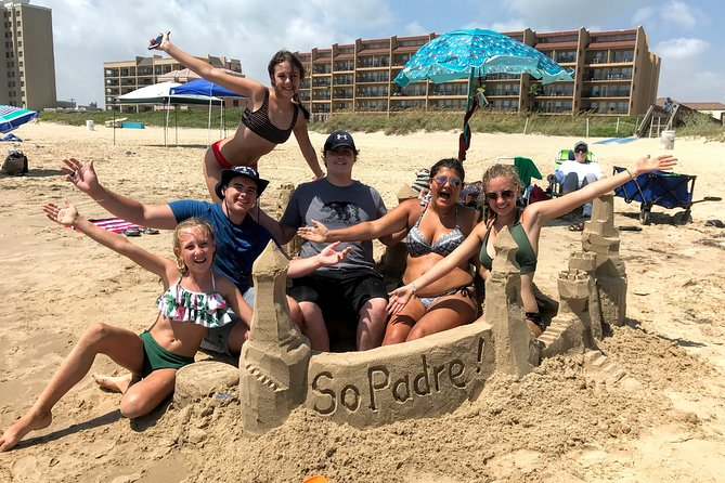 This is a 1 or 2-hour South Padre beach activity that you and your group will never forget. This is an informative, hands-on sand-castling activity that will help you have more fun on the beach than ever before. Equipment is provided and available for use for the duration of your stay on South Padre Island.