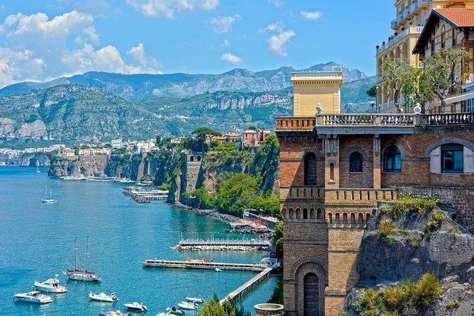 Private Tour: Sorrento, Positano, Amalfi and Ravello Day Trip from Naples, Napoles, ITALIA