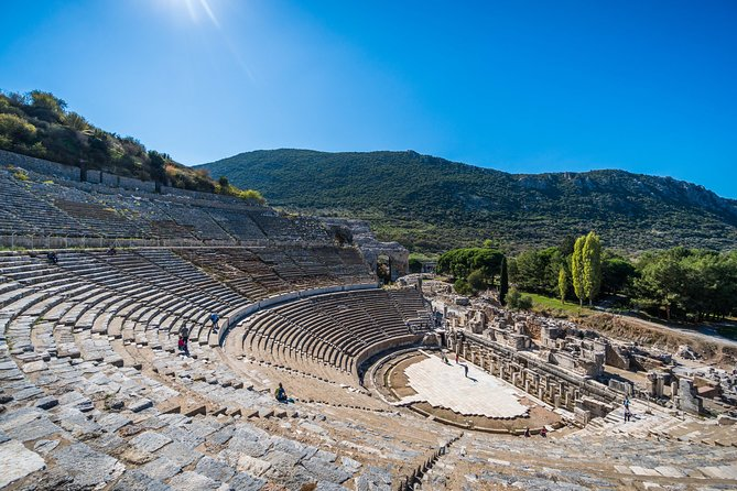 Today you will be marveled by the amazing sites and ruins in and around the Selcuk area, an area which is so rich in history and important artifacts. This day tour from Izmir will take you into Selcuk to visit the sites of Ephesus Ruins, Temple of Artemis, Isabey Mosque and House of the Virgin Mary. Your professional local guide will take you through each site giving you a thorough run down of the history whilst you admire the amazing ruins right in front of you. The day will end with your return transfer back to Izmir.