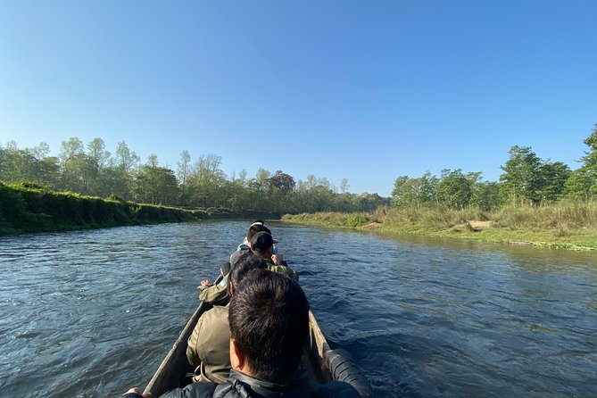 This tour offers you the explore rapti river in Canoeing for 45 minutes.<br>And nature walk in the national park forest with nature guide.