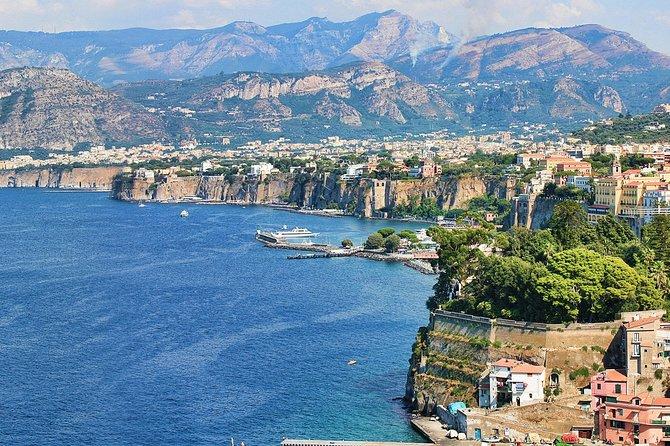 Excursão terrestre em Salerno: Excursão Privada para Sorrento e Amalfi, Salerno, Itália