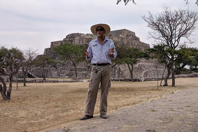 Visita al yacimiento arqueológico Cañada de la Virgen, San Miguel de Allende, MEXICO