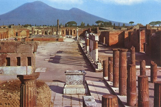 Mt. Vesuvius and Pompeii Day Trip from Naples all inclusive, Naples , ITALY