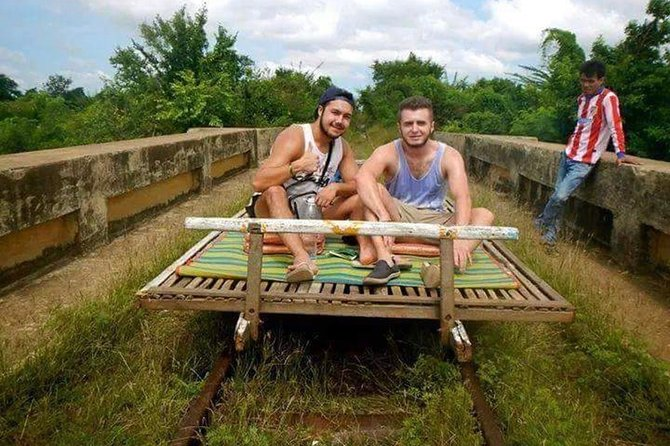 """We provide a unique tour to give tourists real experiences through the eyes of the locals. With a friendly, qualified and informative tour guide to drive you through Battambang's countryside and surrounding attractions, it's the best way to experience the Khmer lifestyle. We are privileged to accept your booking and hope to make your stay one to remember!"""""""