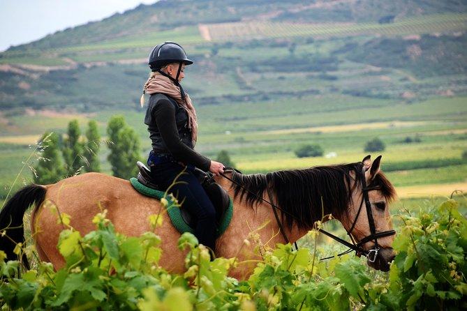 MÁS FOTOS, Horseback riding through the vineyards of the Rioja Wine Country