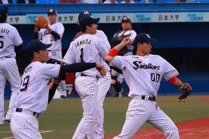 In this Baseball Experience tour, enjoy Japan's most popular sportwith a small group and a local tour guide who is also an expert and fan of Japanese baseball (private tour option also available). Learn about what makes Japanese baseball so interesting, learn the team's chants and anthems and support the Yakult Swallows team with other fans.