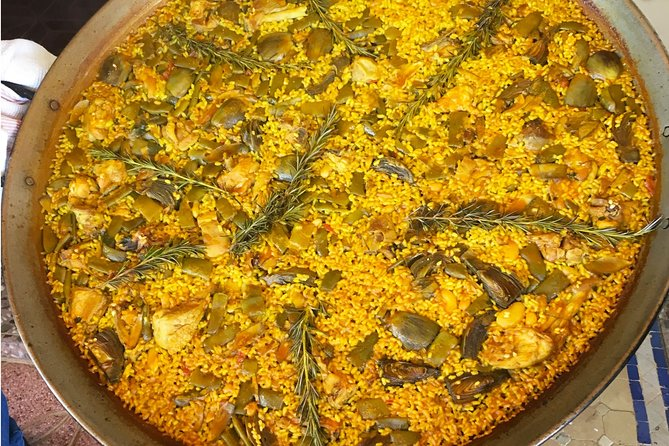 Enjoy a private and authentic online cooking class and learn to make Juan's family recipe for paella, a very popular rice dish in Spain that is a delightful and colorful mix of saffron-flavored rice and meat. This is a perfect experience for anyone looking to connect with local culture over food. A fun and cultural virtual cooking experience with a local from Spain! Juan is originally from Valencia, the hometown of paella where they make paella with meat. However, if you'd like to add seafood you are welcome to do so.<br><br>• Learn to make traditional Spanish paella<br>• Private, one-on-one online instruction with a Spanish native<br>• Introduction to Spain's culture and cuisine<br>• Scheduled mutually at your convenience (host lives in Almeria, Spain (GMT +2) )<br>• Recipes and ingredients list will be emailed in advance of class<br>• Customization available for dietary restrictions or preferences<br>• Travel from your own home and learn culinary traditions of Spain!
