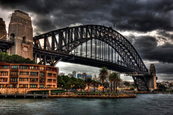 Take a walk on the dark side - revisit the scenes of the crimes.<br><br>Retrace the steps of Sydney's most infamous. Descend into the murky world of the past. Relive a time that proves truth is far stranger than fiction. Book your ticket for a unique investigation into a dark and crime ridden history.<br><br>100% True - 100% Unbelievable.......stories the city tried to forget.......<br><br>Meets at Parbury Lane, just opposite the Sydney Harbour Bridge in The Rocks.  Bring comfortable shoes.