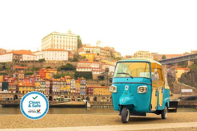 Visita guiada al centro histórico en un Tuk Tuk, Oporto, PORTUGAL