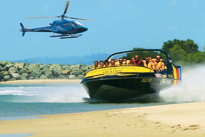 Jet-Boat Ride and Helicopter Flight from the Gold Coast, Surfers Paradise, AUSTRALIA