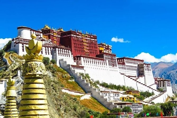 MÁS FOTOS, 3-Day Private Tibet Tour from Qingdao: Lhasa, Yamdrok Lake and Khampa La Pass