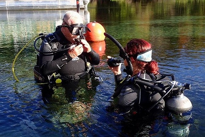You will find out what it is like to breathe underwater. Your Divemaster/Instructor will teach you the basics of SCUBA equipment and use.<br><br>You will then get to experience SCUBA diving in crystal clear Rainbow River for your first dive. All of your SCUBA equipment is included.