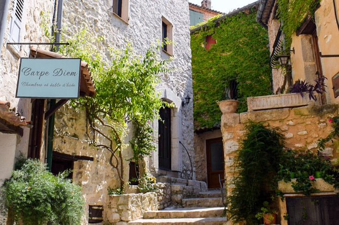 Full-Day Private Tour of Provence Towns and Medieval Villages, Niza, França