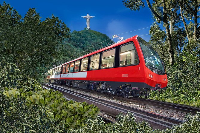Visit the best of Rio de Janeiro in a single day: Christ the Redeemer by Train, Sugarloaf Mountain, Selarón Steps, Maracanã Stadium, Sambadrome, and Metropolitan Cathedral, and lunch at Brazilian steakhouse. Includes roundtrip transportation.