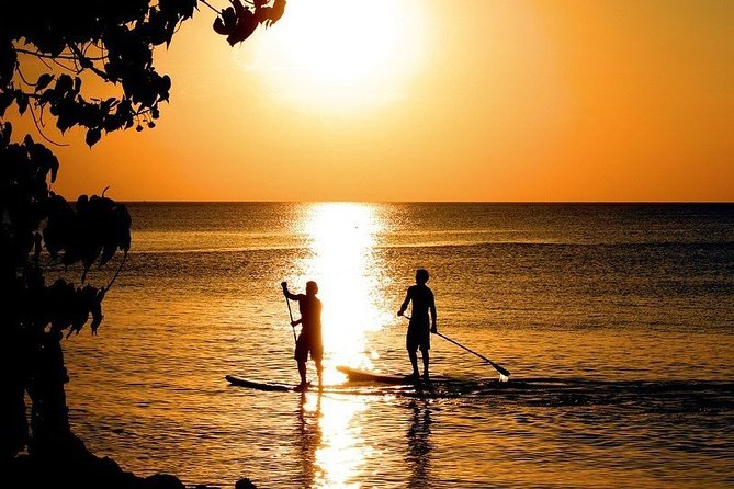 Enjoy the last rays of the sun with our Sunset Stand-Up Paddle activity. Taste the peaceful moment and a very special atmosphere at the end of the day and relax your mind in the pristine lagoon of Ishigakijima.