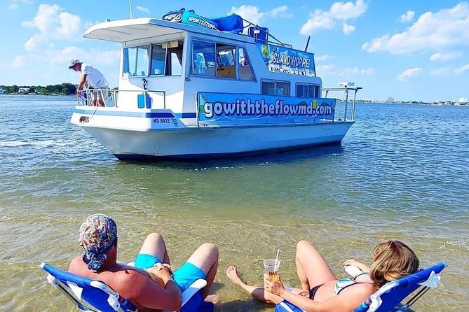 Our goal is to bring a little bit of the Caribbean to the bay! Let our Captains and First Mates serve you all day as you enjoy your time on the water or at the sand bar! Perfect for a break from the regular beach day, bachelor and bachelorette parties and hopping to all the amazing bars and restaurants in Ocean City! We hope to see you on the Island Hopper soon! Until then, Go With The Flow!