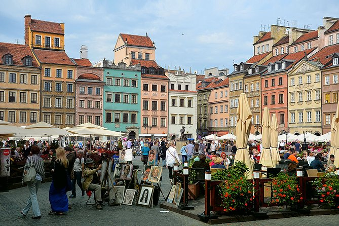 Warsaw Old Town with Royal Castle + Lazienki Park: SMALL GROUP /inc. Pick-up/, Varsóvia, POLÔNIA