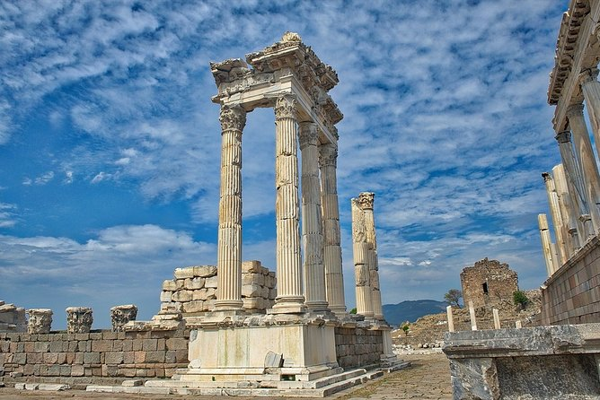 We warmly welcome all Cruise Ship Passengers to the Port of Dikili, Turkey. What a better way to see and experience Dikili than to book one of our 6 Hour Pergamon and Asklepion Tour from Dikili Port.<br>If you are looking for something special and intimate without the hassle of being in a big a group then this is one of our classic private tours and includes a driver and a separate English-speaking guide who will accompany you into all attractions to provide commentary and information. As the tour is private you can do it at a leisurely pace and take in the breathtaking sites.<br>