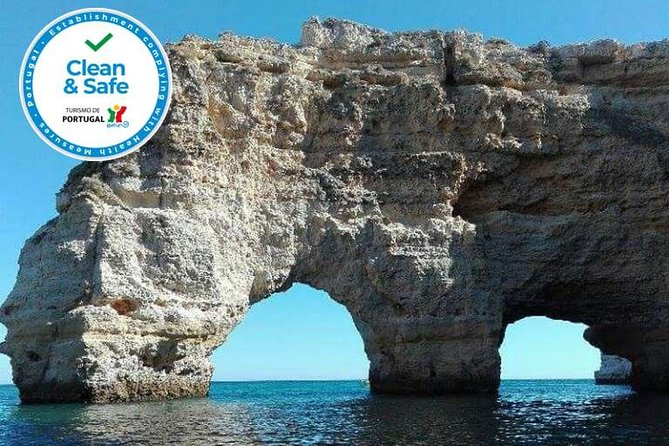 For 2 hours we will enjoy a kayak tour, where you will get to know and explore some caves.<br>The tours are carried out in the morning, so that there is not a lot of activity in the area, making the most of the experience.<br>Our experience starts at Marinha's beach, considered one of the most beautiful beaches in the world, ending at the most famous cave in Europe, Benagil's cave.<br>Along the way, we will stop to see other caves, enjoy the scenery, take pictures, access beaches only accessible by sea and relax.<br>When we get to the Benagil cave, we will disembark, taking the opportunity to take pictures, relax and swim, if you wish.<br>Our tour is carried out with few people, in order to better enjoy this experience.<br>The tour ends at the same place where it started, at Marinha's beach, where you can enjoy and spend the rest of the day at the beach.<br>Get ready for an incredible experience!