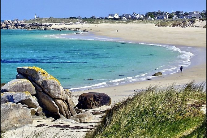 """Discover the coast of Northern Finistère during this full-day private excursion. Choose from a pre-designed route or customize the itinerary with your tour guide to cover the sights of your choosing. <br><br>Pre-designed route: Discover Pays des Abers and the Coast of Legends<br>A full-day tour of the Northern part of Finistère, from the peacefulness of the """"abers"""" (estuary in breton) to the deadly rocky coast of Kerlouan, it's common to be the only living soul around, which lets us immerse ourselves in the wild side of Brittany.<br><br>Possible itineraries include a specially crafted WWII tour, a visit of Brest's region, an excursion to the more traditional Quimper/Locronan or a foodie tour to discover the delicacies of Brittany. It's is completely customizable so don't hesitate to contact me to make personal requests. We can also arrange tours for corporate groups, in French or English or in both!"""