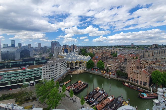 Rotterdam: Markthal + Cube Houses + Water taxi + Wilhelminapier + Rooftop view, Rotterdam, HOLANDA