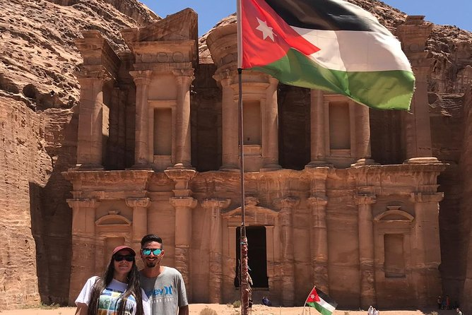 Enjoy this tour to the magnificent rock city of Petra, one of the New Seven Wonders of the World and a UNESCO Heritage Site. This private day tour offers you comfort and flexibility with a pick up at any hotel in Amman at 7:00. The drive to Petra lasts about 3 hours. The rock city you discover with your private, knowledgeable local guide. After that you have time to stroll in Petra on your own. This tour concludes with a drive back to your hotel.