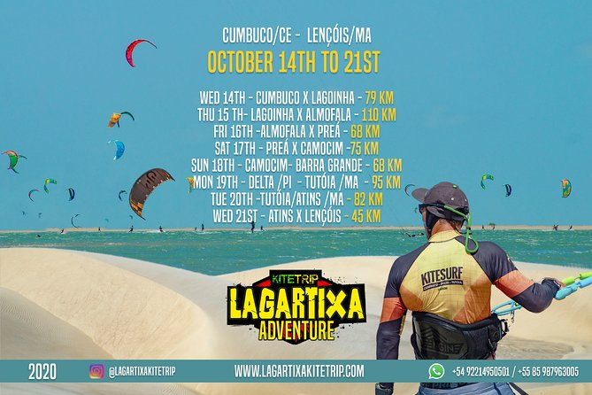 MÁS FOTOS, Downwind Cumbuco - Atins (550km - 9 días) 14-22 Octubre