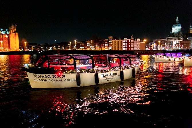 Evening Canal Cruise with Bar on Board - Small-Group & Live Guided, Amsterdam, HOLANDA