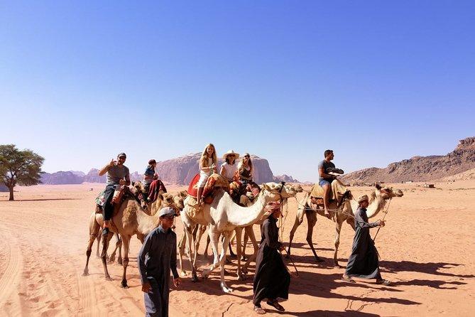 Recorrido de 3 dias en Wadi Rum y Petra desde la Frontera de Wadi Arava, Petra, JORDANIA