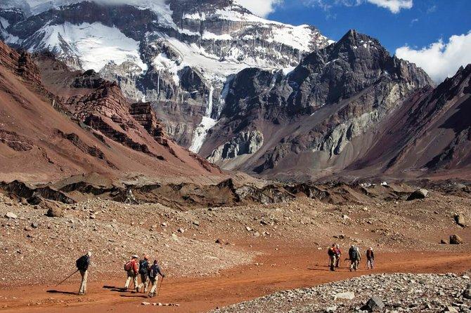 3 days trek to Plaza Francia in Aconcagua park, Mendoza, ARGENTINA