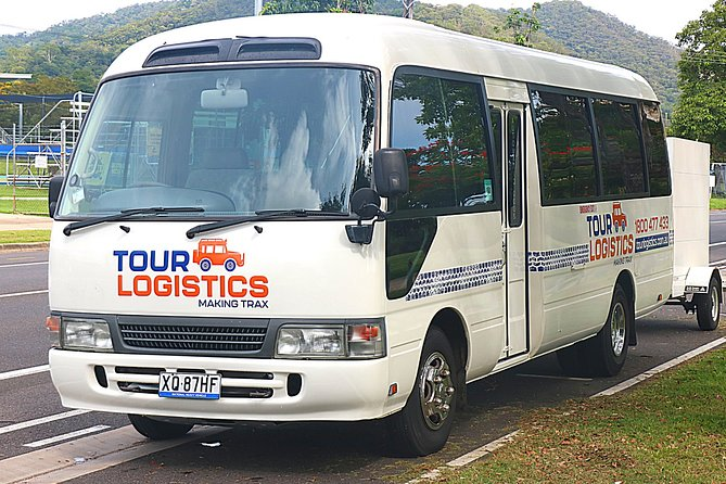 Tour Logistics pride themselves in offering a premium, friendly service. With many year's experience and a highly trained, dedicated team; customer service is paramount. Locally owned and operated, Tour Logistics is located just minutes from Cairns Airport.<br><br>Premium private transfer service from Palm Cove to Cairns Airport in our comfortable, well presented Toyota Coaster Bus. Complimentary infant and child seats and free 'quick stop' (maximum 15 minutes).