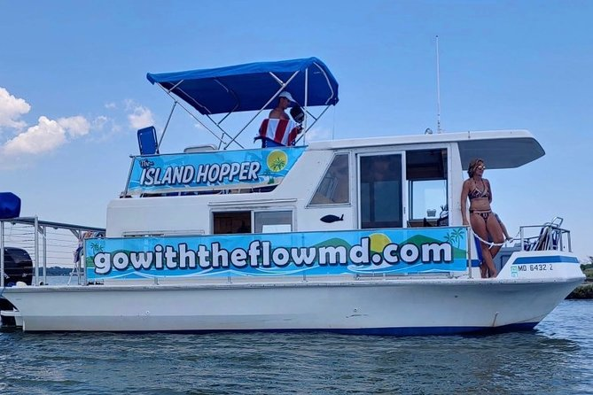 Our goal is to bring a little bit of the Caribbean to the bay! Let our Captains and First Mates serve you all day as you enjoy your time on the water or at the sand bar! Perfect for a break from the regular beach day, bachelor and bachelorette parties and hopping to all the amazing bars and restaurants in Ocean City! We hope to see you on the Island Hopper soon!