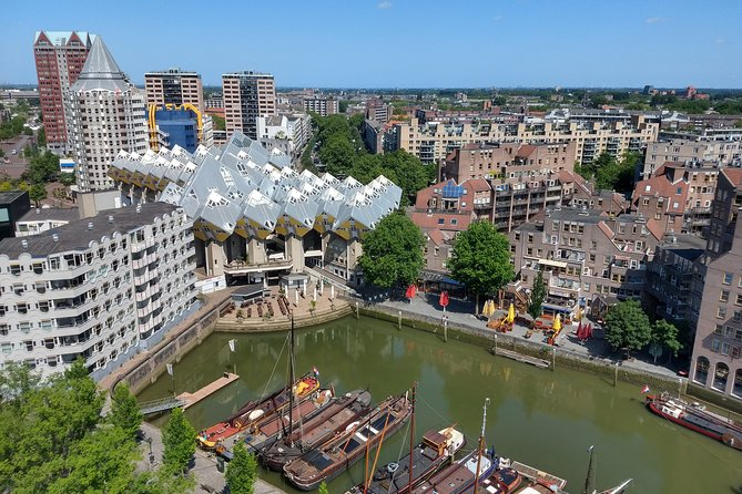 Guided Tour: Rotterdam, Markthal, Water Taxi, Wilhelminapier and Rooftop View, Rotterdam, HOLLAND