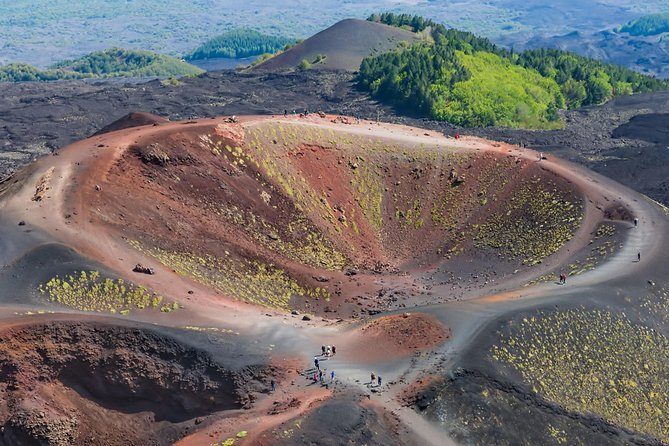 Discover Etna and Taormina during this private full day tour with driver.<br> Explore Etna, the largest active volcano in Europe, which has become a UNESCO World Heritage Site.<br> You will reach Taormina, one of the most beautiful and well-known cities in Sicily.<br>You can experience the romance of Taormina, walking through its medieval streets.<br>Discover unique scents, sounds and panoramas, such as the Greek-Roman Theater, the Corvaja Palace, the Church of S. Caterina, Piazza IX Aprile and the Duomo with its famous fountain.