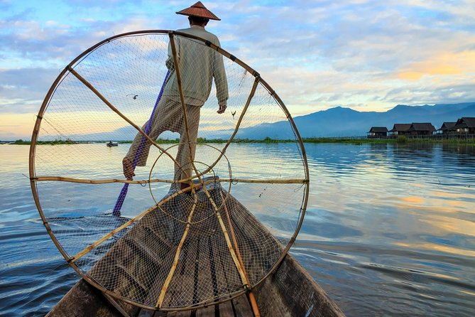 From shore to shore, Inle Lake is a kaleidoscope of authenticity. A destination so unique, it continues to captivate new and repeating visitors again and again where the one-legged rowers, its floating temples and gardens are just a few of the highlights<br><br>• Meet the famous Inthar one-legged rowers <br>• Cruise over Inle Lake's shallow waters by local boat<br>• Watch local weavers at work at Inpawkhon<br>• Explore the little-known Indein Pagoda<br>• Lunch is included at a local restaurant