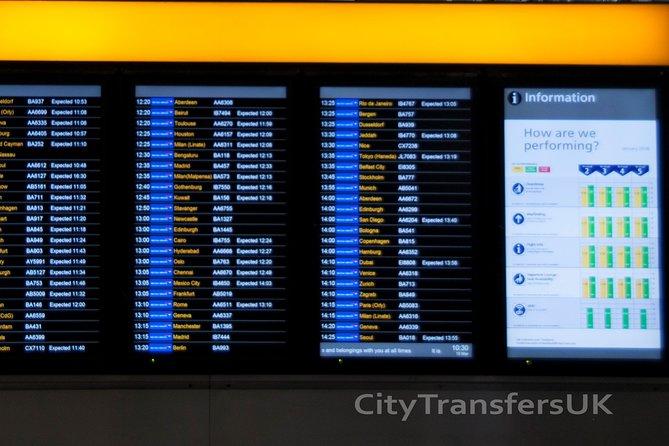 Traslado particular de chegada a Londres - Do aeroporto para o hotel/acomodação, Londres, REINO UNIDO