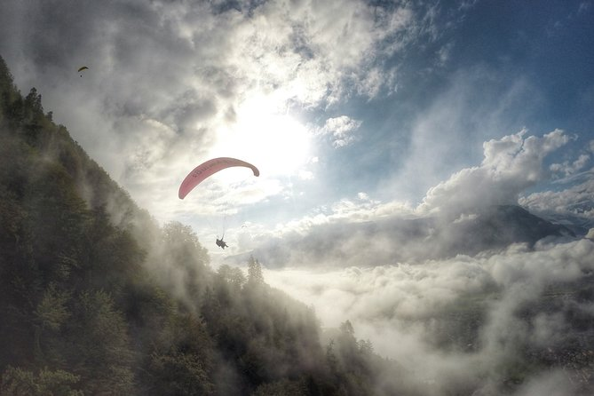 Tandem Paragliding Experience with Transport from Interlaken, Interlaken, SUIZA