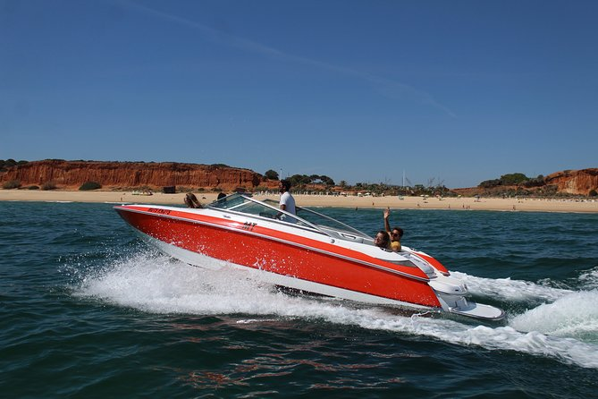 Speed Boat with Crew from Vilamoura, Albufeira, PORTUGAL