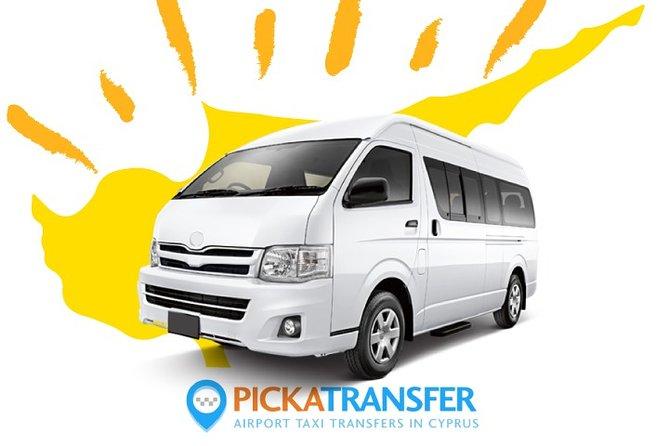 Cyprus Airports Transfers - Ayia Napa to Larnaca Airport - Minibus 1-13, Ayia Napa, CHIPRE