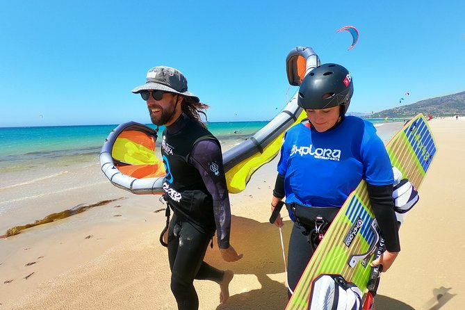 We have been teaching and sharing our love of the ocean for 11 years. We are lucky to be located on Los Lances beach at one of the best spots for kiting. All of our instructors are fully qualified and we have brand new equipment each year. We are a famliy run business who's aim is to ensure you have a great time with us on and off the water.