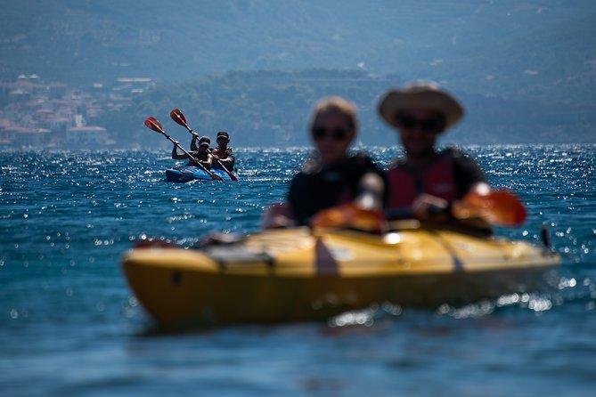 Sea Kayaking in Navarino Bay, Kalamata, Greece